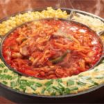 なんば「Korean Dining ハラペコ食堂 GEMSなんば店」/ チュクミ2,280円(税別)